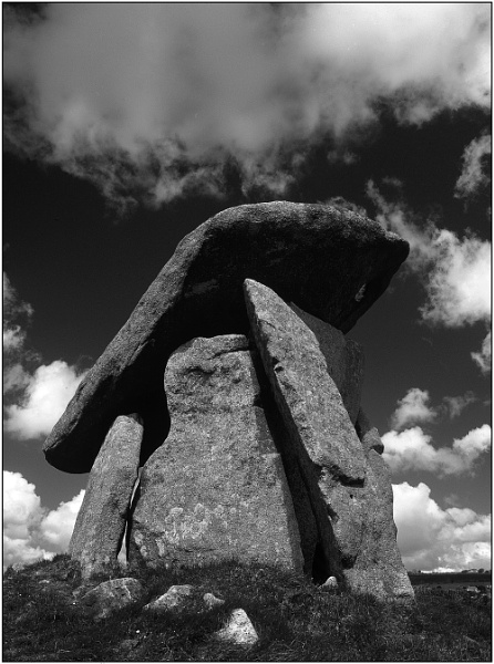 Trethevy Quoit, Cornwall. by tonymills