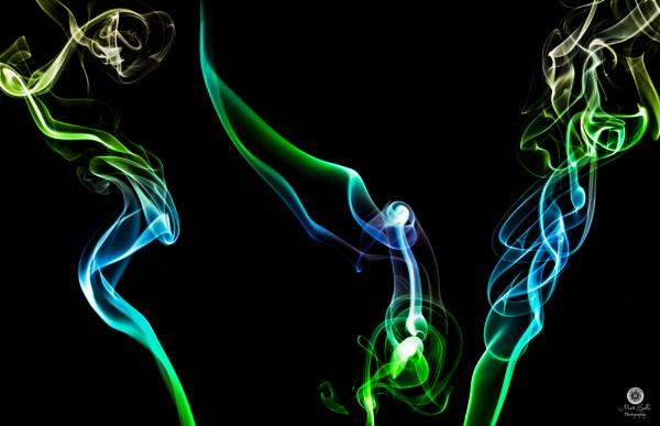 Smoke Painting