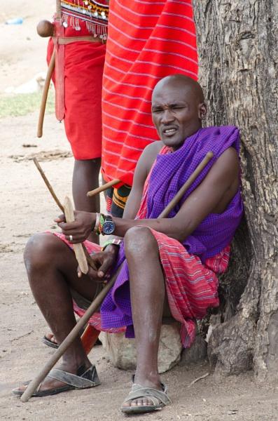 Masai Warrior by ginz04