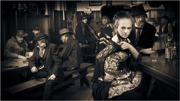 Saloon Katy by PaddyBoyle