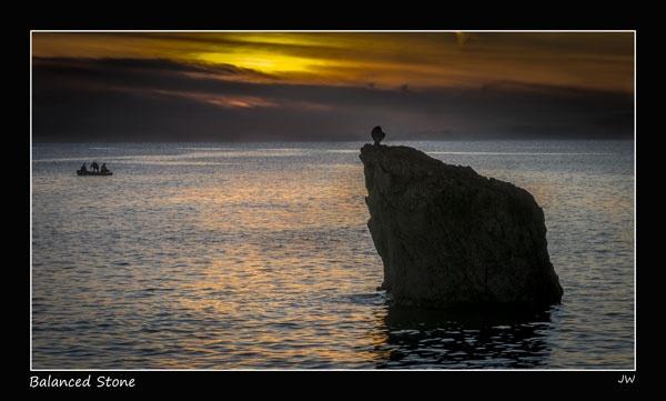 Balanced Stone by jer