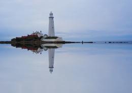 St Mary's Light house Whitely Bay