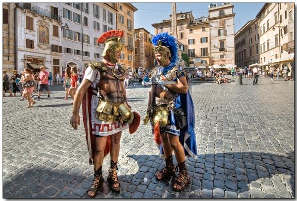 Roman locals by TrevBatWCC