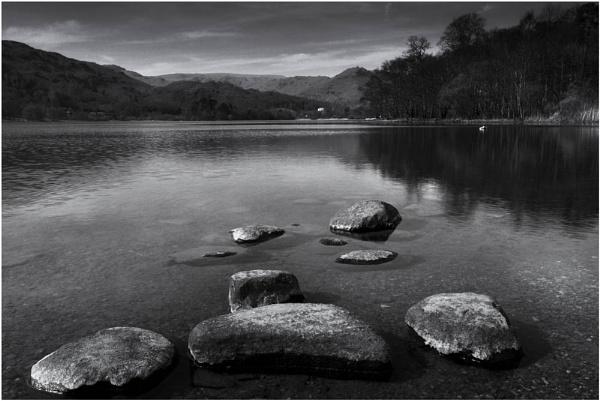 the silent stillness in mono by JanieB43