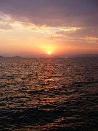 Calis sunset