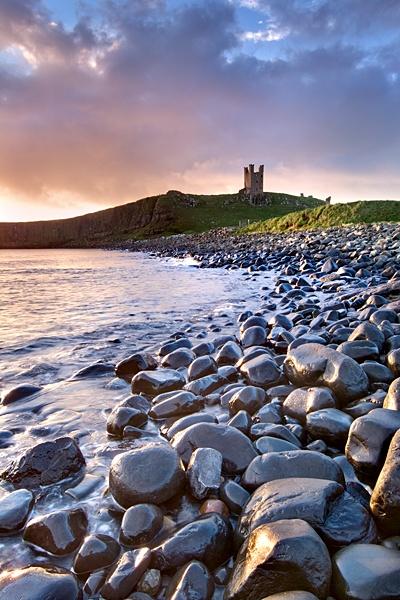 Dunstanburgh Dawn by DLLP