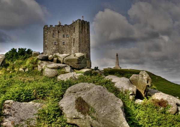 Carn Brea Castle by headskiesfly