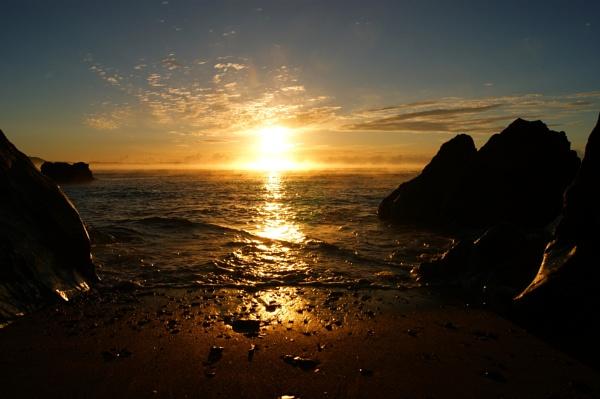 Hannafore October Sunrise by PaulRichardson