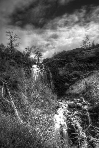 Flowerdale waterfall by Rab90