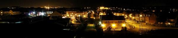 Urban nightscape by SH87