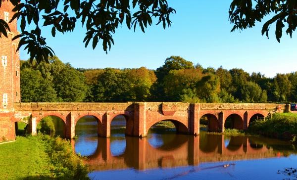 Bridge across the Moat by Lottiephotography