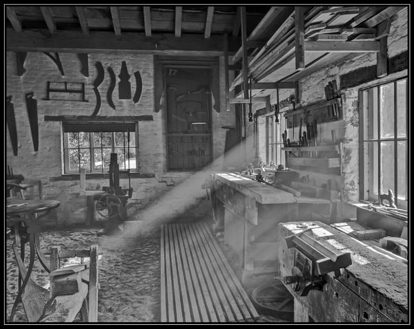 Erddig Workshop mono by NorthernLights53