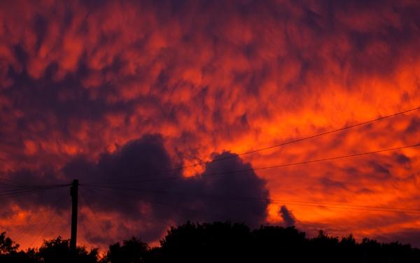 burning sky by mort