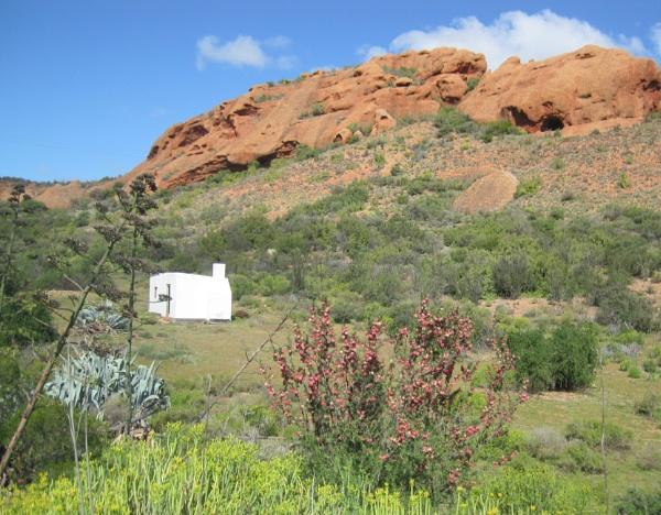 Shepherd\'s shack by Averil