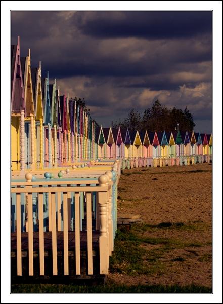 Beach Huts by SteveHunter