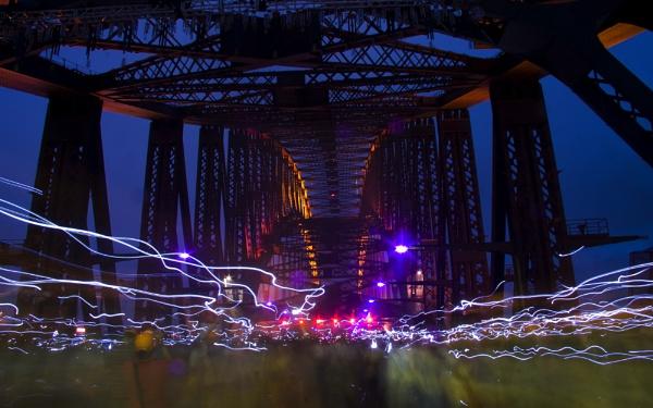 Sydney Harbour Bridge 75th Celebration by Mi_Images