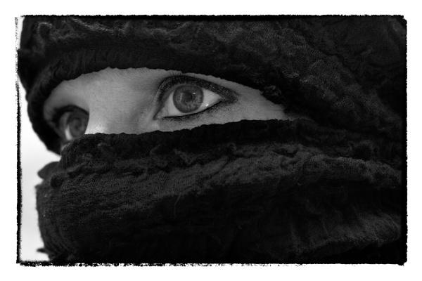 In veil. by birgit