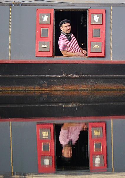 Canal boatman by SteveMcHale