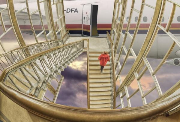 Now boarding level 30 by JoHa
