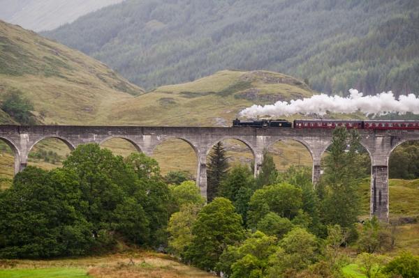 Jacobite Steam Train - Glenfinnan by d55p