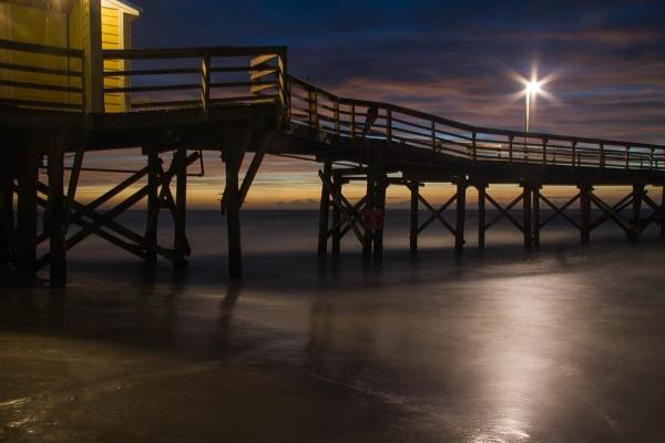 Pier light by LightTouchesSurface