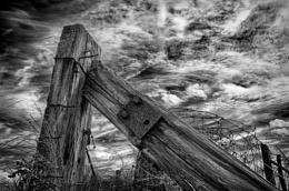 Braced Fence Post 2