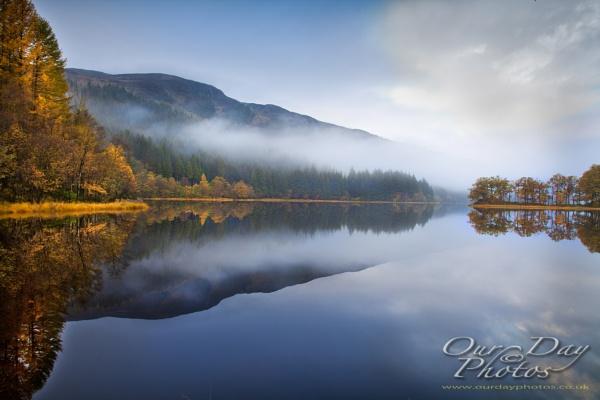 Loch Chon, Aberfoyle. Scotland.