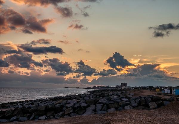 Coastal Sunset by JJGEE