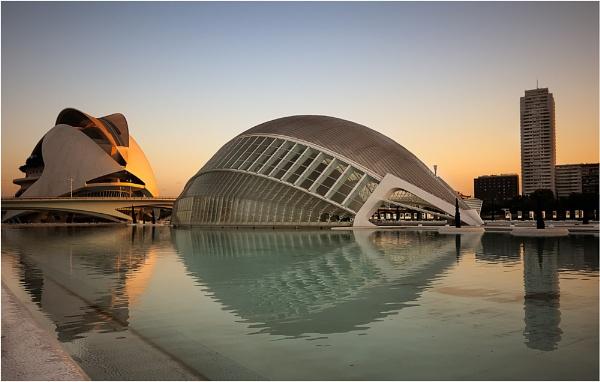 Calatravas Sunrise by Chant57