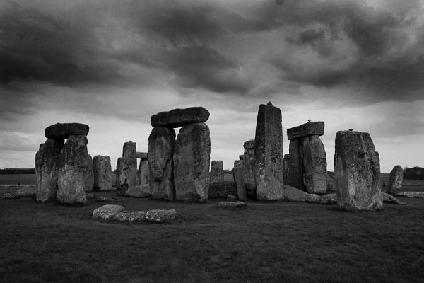 Storm Over Stonehenge by bugdog