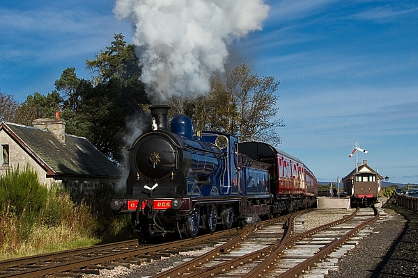 Strathspey Steam Railway - Broomhill by wheresjp
