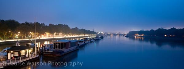 Battersea at dawn by watsonle