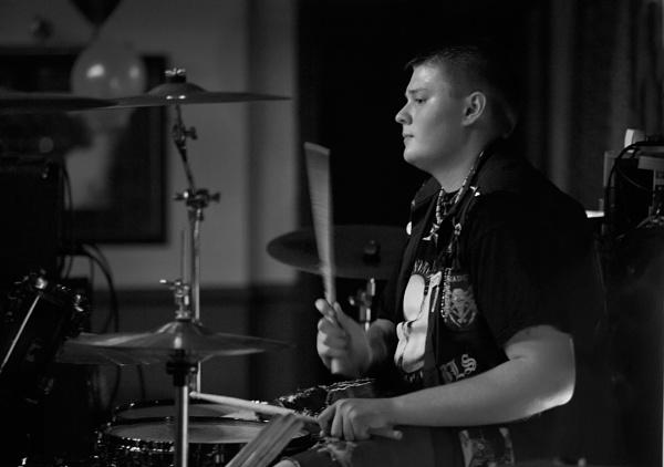 Drummer by MrGoatsmilk