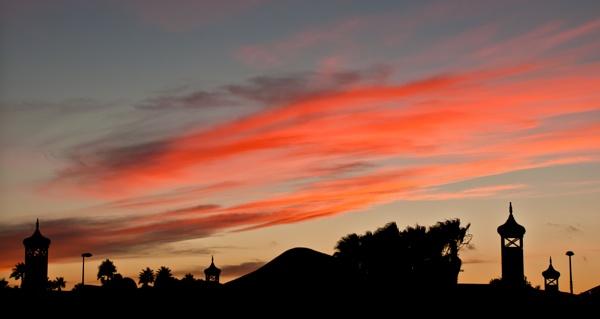 Night sky Lanzarote by rubberclutch