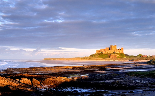 Bamburgh Evening by DLLP