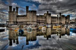 Caernarfon Castle HDR