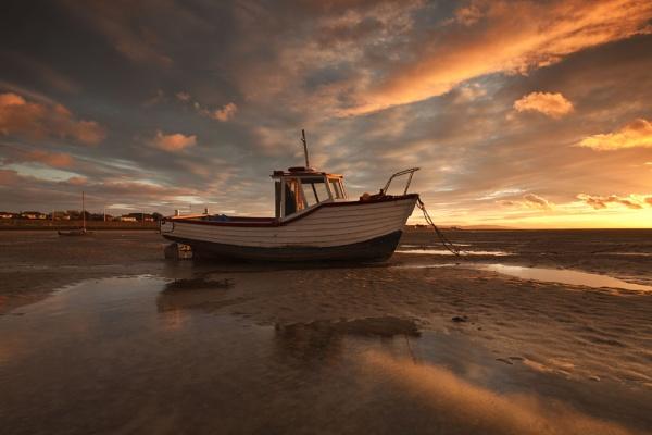 "\""SETTING SUN\"" (Meols Estuary North west England) by razorraymac"