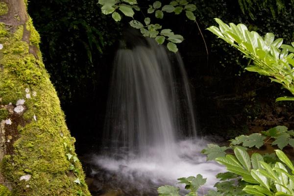 Waterfall in Ireland by glendalough