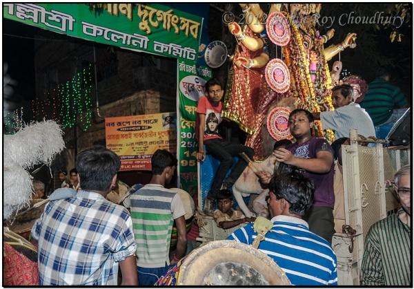Last day of Durga Puja, known as Bijoya Dashami #11 by Alokchitri
