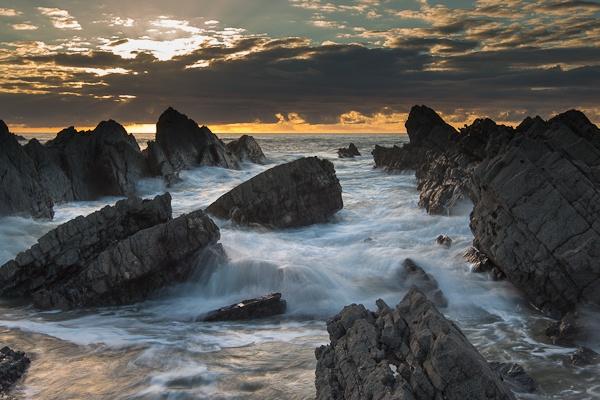 Hartland Sunset by ChrisInDevon