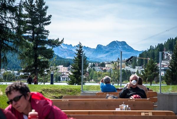 Coffee in St Moritz