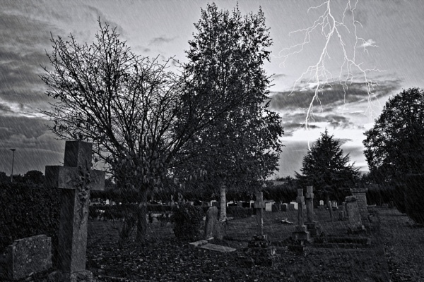 Cemetery Storm by Youngjedi75