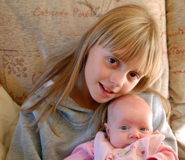 My baby sister by Sundowner2005