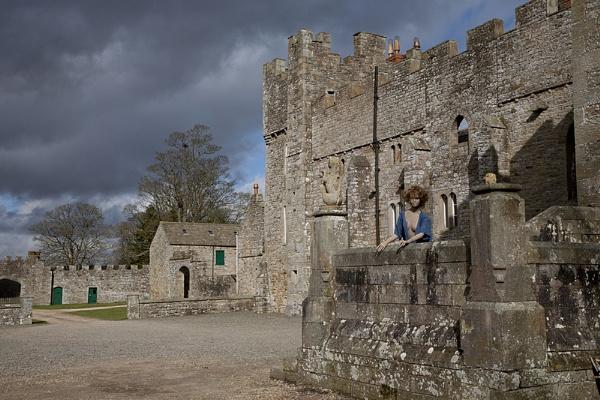 Castle visitor by danbrann