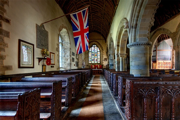 The Church of St Morwenna and St John the Baptist by Sezz