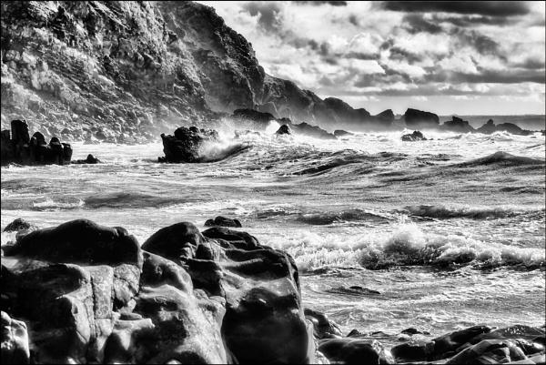Duckpool Beach by dwilkin
