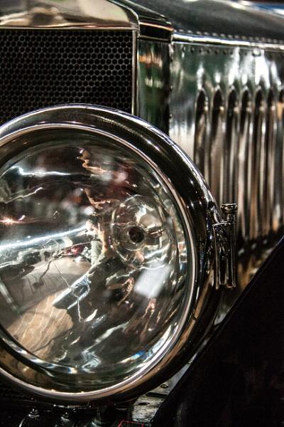 Rolls Royce Headlamp by morpheus1955