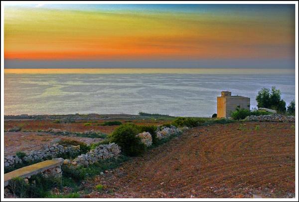Countryside Sunrise by alistairfarrugia
