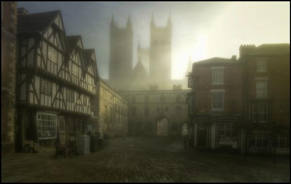 Misty spires by malleader