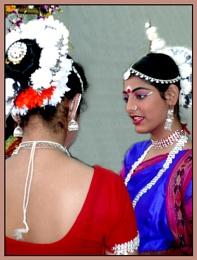 Indian Odissi Dancer...